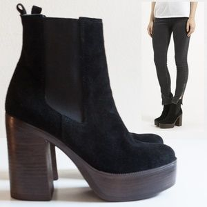 0e0afbdf282 Topshop Shoes - Topshop Holly  70s Platform Ankle Boot